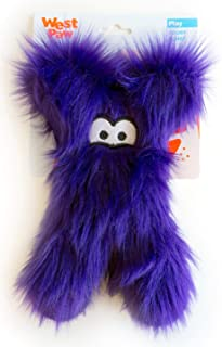 product image for West Paw Darby, Rowdies with HardyTex and Zogoflex, Plush Dog Toy, Purple Fur