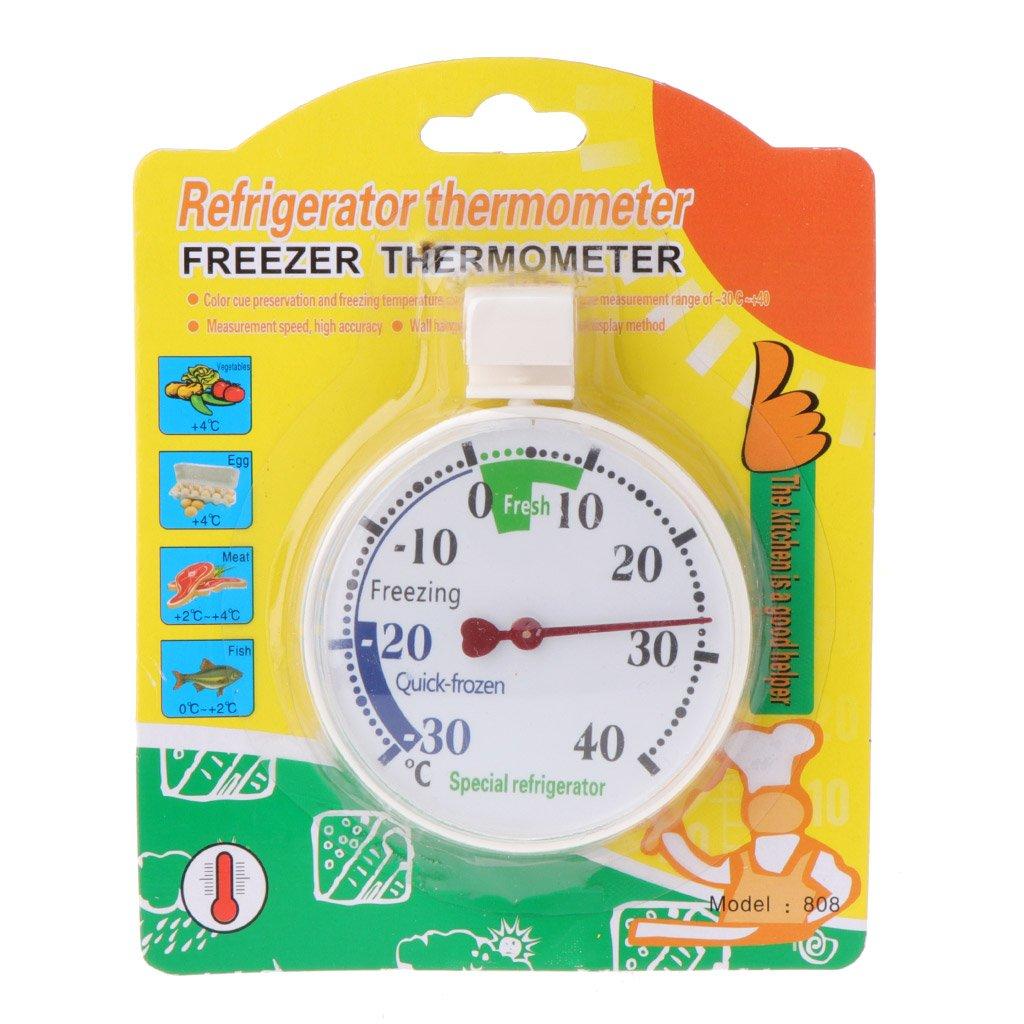 NIANNIAN Thermometer K/ühlschrank Gefrierschrank Thermometer K/ühlschrank K/ühlschrank Temperaturanzeige Heimgebrauch