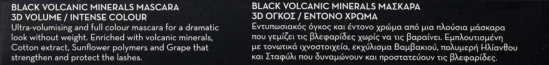 Korres Black Volcanic Minerals Mascara Intense Brown 8ml: Amazon.es: Belleza