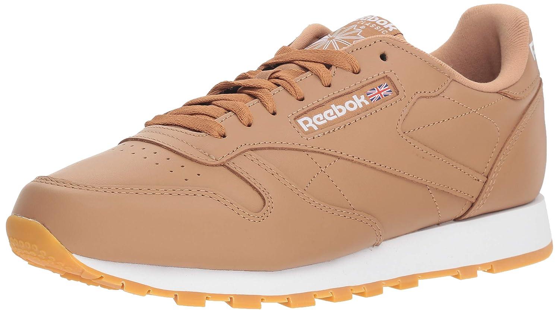De confianza Entender mal escotilla  Buy Reebok Men's Classic Leather Walking Shoe, Fg-Soft Camel/White/Gum, 9 M  US 9 Fg-Soft Camel/White/Gum at Amazon.in