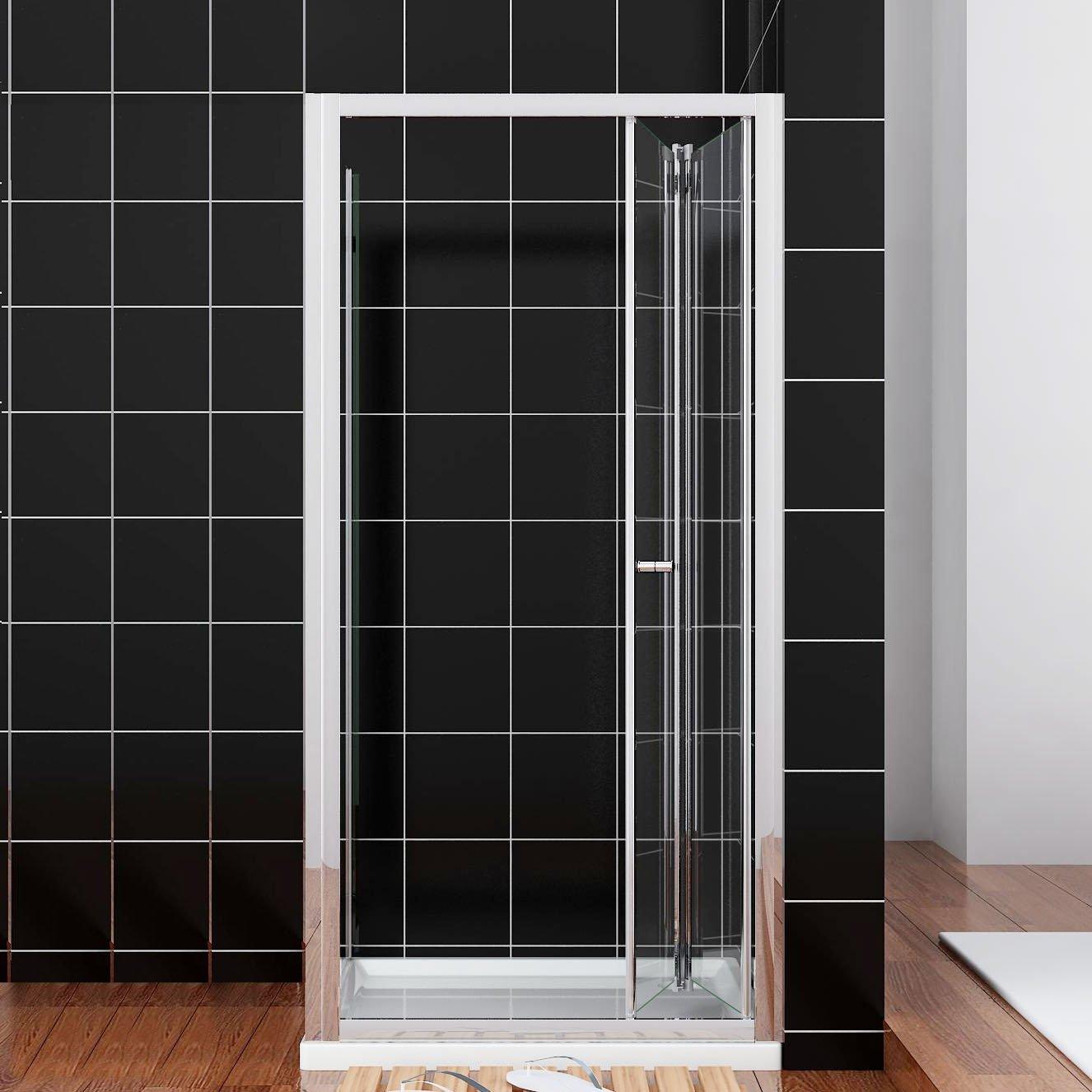 Duschabtrennung glas nische  Amazon.de: Duschtüren - Badinstallation: Baumarkt