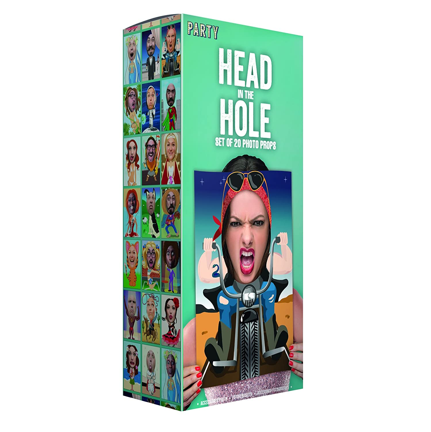 Paladone Head In The Hole Toy (One Size, Multi-Colour) PP3069