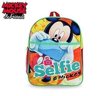 MK16105 Mochila escolar de primaria de Mickey Mouse 31x25x20 cm: Amazon.es: Equipaje