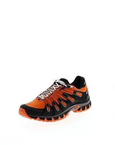 Meindl 3055-76 XO 8.0 Lady Orange/Schwarz/Damen Trekkingschuhe Blau/Wanderstiefel, Grösse:41.5 (7.5 UK)