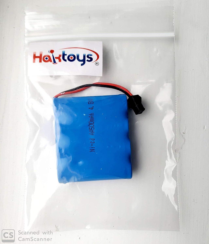 Batería para automóvil Haktoys Ni-cd 4.8V 500mAh (IVSI)