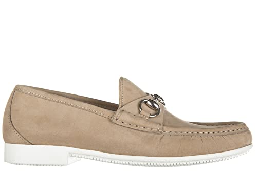Gucci mocasines en ante hombres nuevo rocky beige EU 40.5 337060 BHO00 1523: Amazon.es: Zapatos y complementos