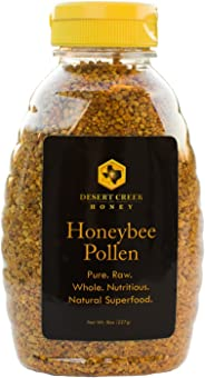 Desert Creek, Raw Bee Pollen, Natural Premium and Pure Superfood, 8 Ounce