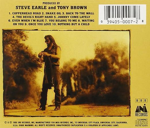Steve Earle - Copperhead Road - Amazon.com Music