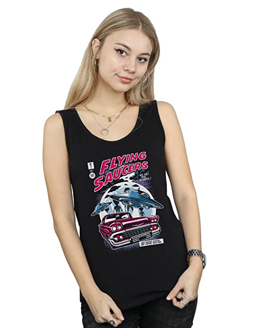 Absolute Cult Drewbacca Hombre Flying Saucers Camiseta T0h1FB