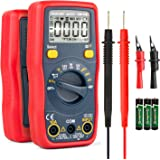 AstroAI Digital Multimeter Battery Voltage Tester 1.5v/9v/12v Auto-Ranging 4000 Counts TRMS DMM/Ohmmeter/Voltmeter with…