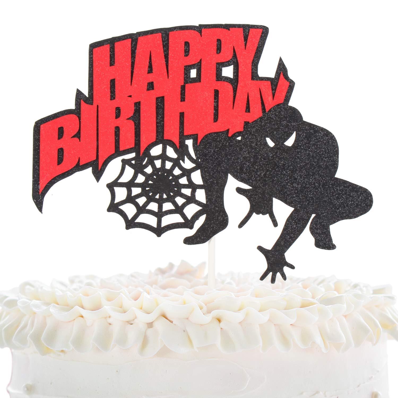 Strange New Light Up Eyes Action Superhero Ultimate Spiderman Cake Kit Funny Birthday Cards Online Unhofree Goldxyz