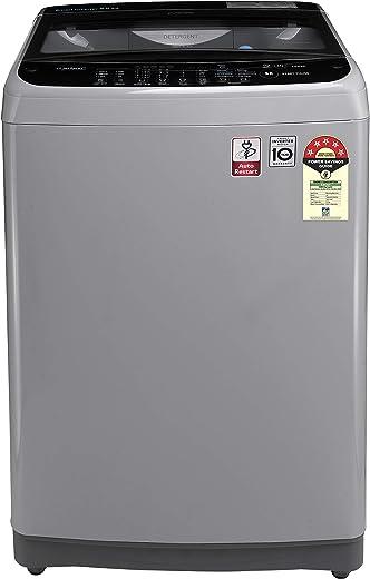 9KG LG Fully-Automatic 5 Star Top Loading Washing Machine Smart Inverter T90SJSF1Z Jet Spray+