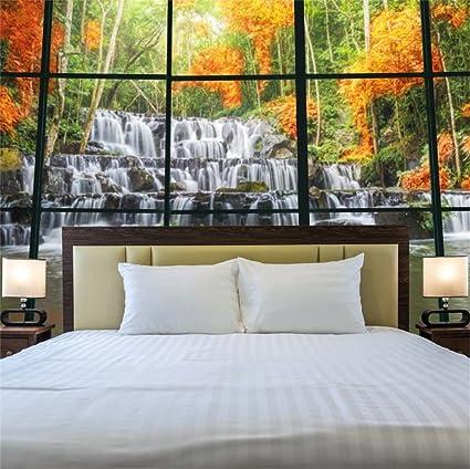 Amazon Com Lfeey 5x5ft Polyester Empty Bedroom Glass Window