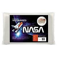 Travesseiro Visco Elástico Revestimento Poliester Fibrasca Branco 50x70 cm