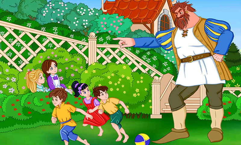 amazoncom the selfish giant an interactive childrens story book hd appstore for android