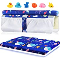 Bath Kneeler and Elbow Rest Set, 1.5 inch Thick Kneeling Pad Elbow Support for Knee Arm Support Large Bathtub Kneeling…