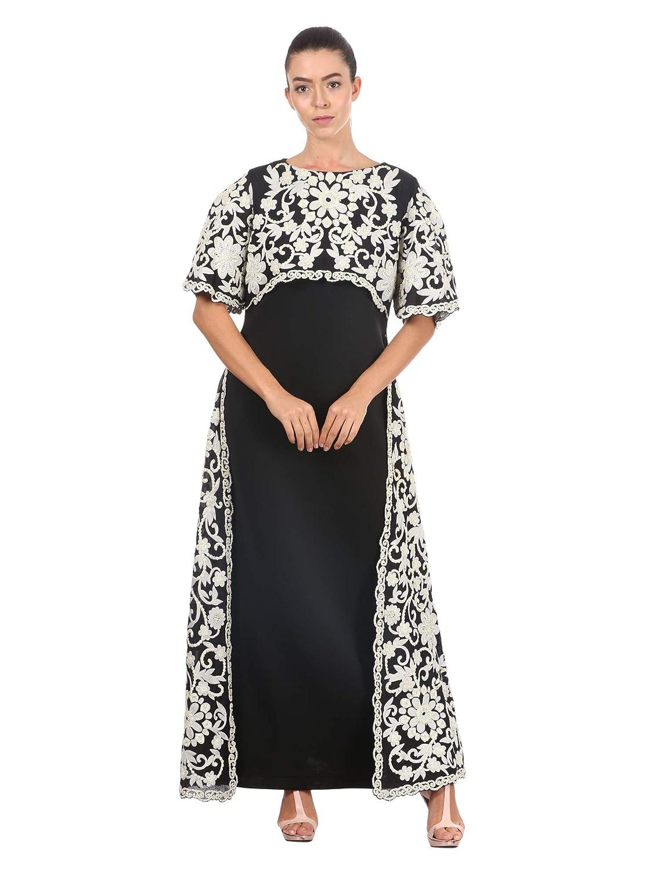 Pankaj and Nidhi Women's A-Line Maxi Dress
