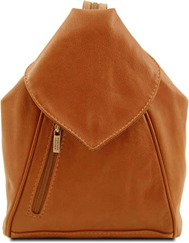 Tuscany Leather Delhi Leather backpack Cognac