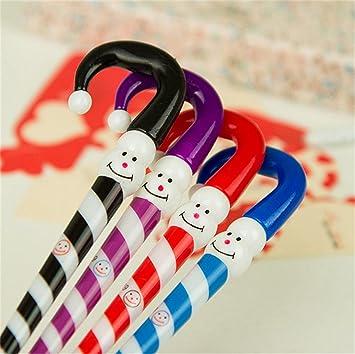 34f4d9093b90e SONGQEE 4 piezas de papelería creativa adorable muñeco payaso sombrero  paraguas de la historieta cara divertida plebiscito solaz Favor regalo   Amazon.es  ...