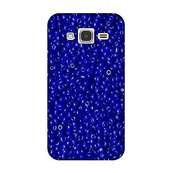 Carcasa Samsung Galaxy j5- (2015) - perlas azules: Amazon.es ...