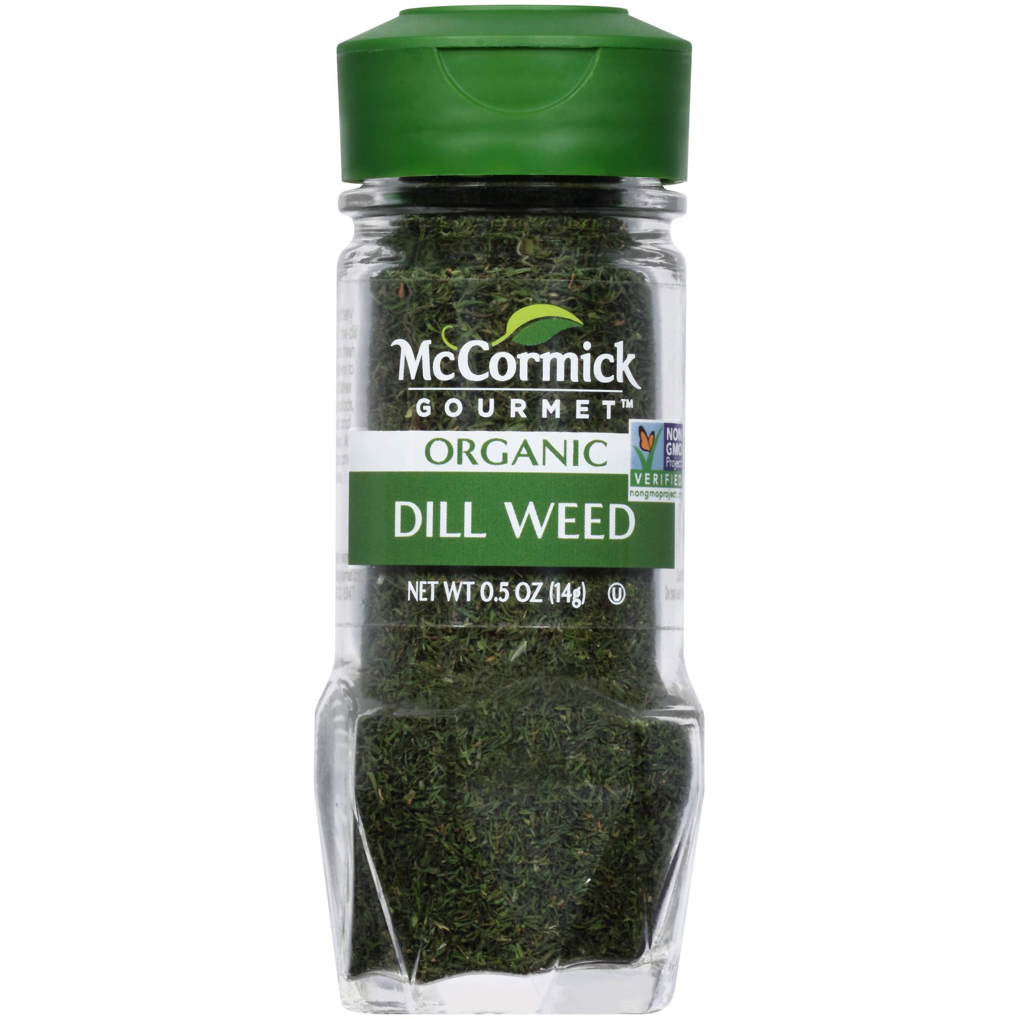 McCormick Organic Dill Weed .5 oz (Pack of 3)