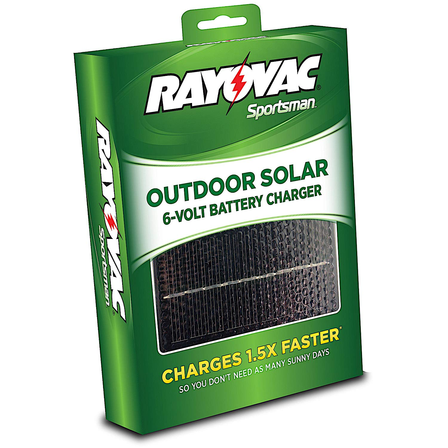 Rayovac Sportsman Outdoor Solar 6-Volt Battery Charger