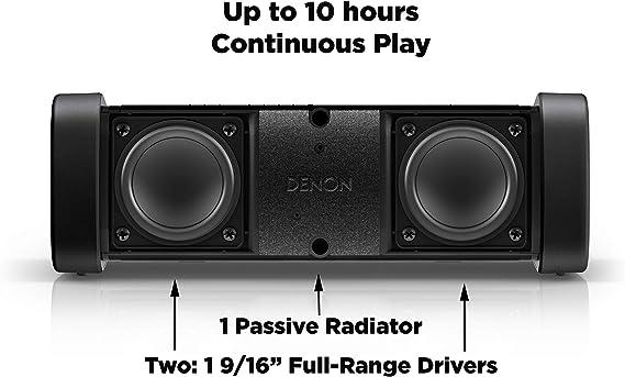 Denon DSB-50BT-BK-G - Altavoz Bluetooth, Color Negro: Amazon.es ...