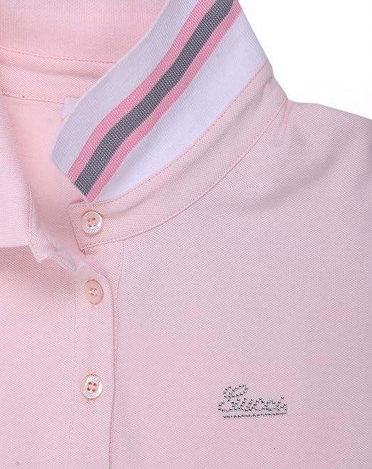 Gucci - Polo - para niña rosa 8 años: Amazon.es: Ropa