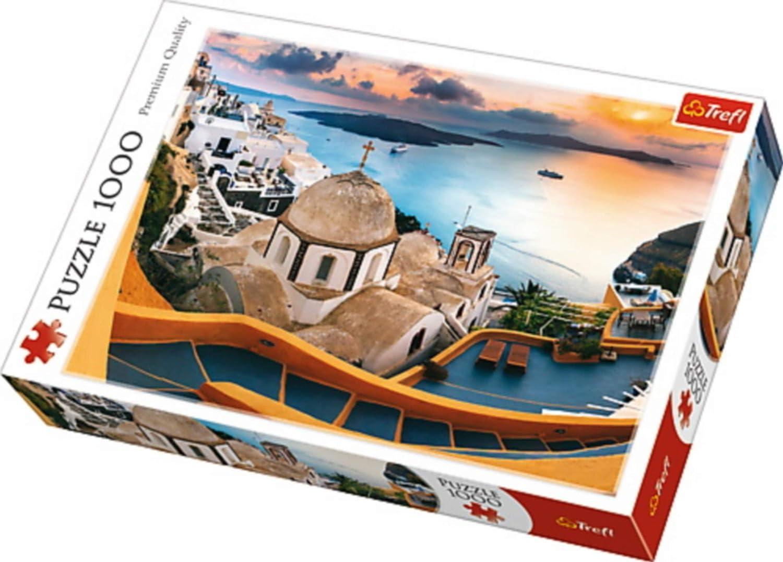 Puzzle Bajkowe Santorini 1000: Amazon.es: Juguetes y juegos