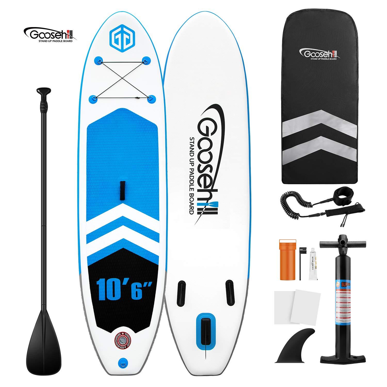Goosehill - Tabla de Surf de Remo Hinchable con tecnología ...