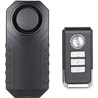 Lancoon Alarma De Bicicleta, Antirrobo para Vehículos De Motocicleta con Control Remoto, 113 Db Super Loud (Paquete De 1…