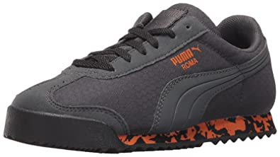 PUMA Roma MS Print PS - K Dark Shadow Black Burnt Orange cde3c35a0
