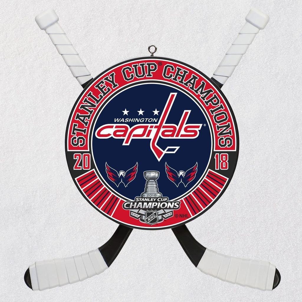 Hallmark NHL - Stanley Cup Champion Personalization Keepsake Christmas Ornaments