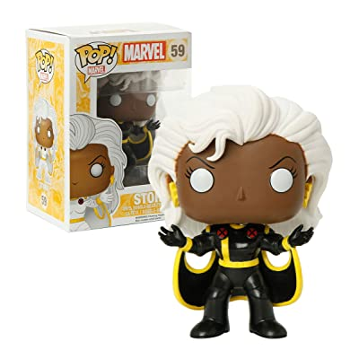 Funko Pop Marvel X-Men Black Suit Storm Exclusive: Toys & Games