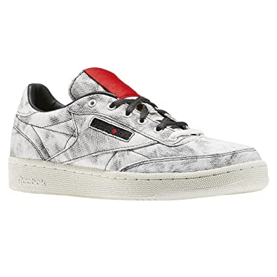 d1f9d6cc Amazon.com | Reebok Boys Club C Kendrick Distressed Low Top Fashion  Sneakers | Sneakers