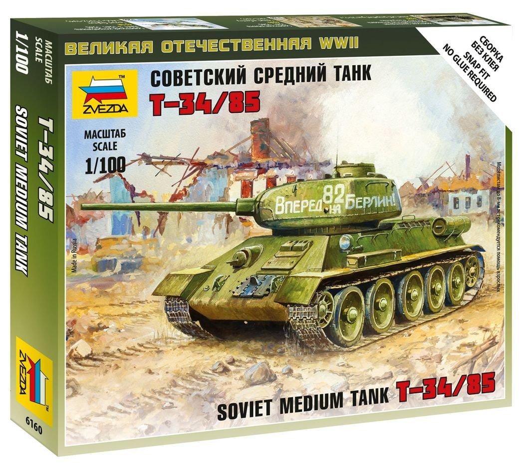/Armoured Combat Tank IV Ausf D/ Zvezda Model/ // /Z6151/ /1: 100/Scale