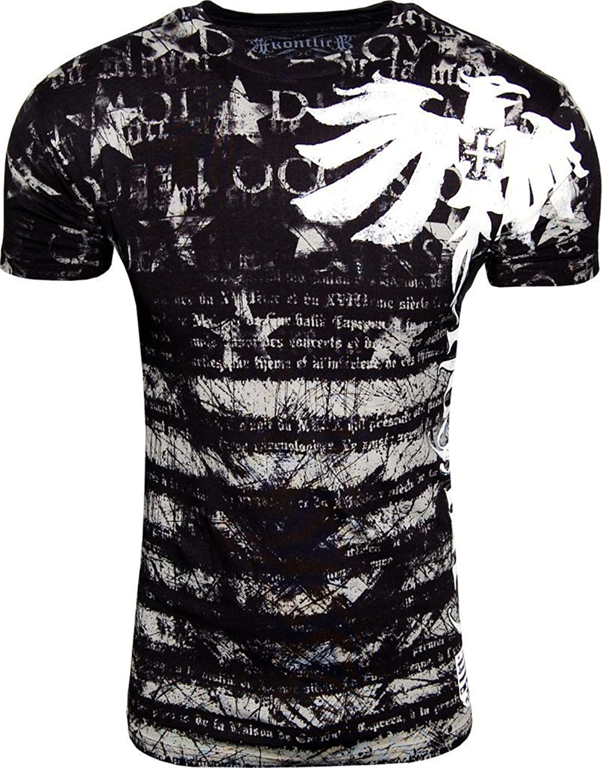 Konflic NWT Men's Royalty Graphic Designer MMA Muscle T-shirt