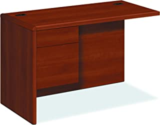 product image for HON 10700 Series Left Desk Ret Credenza, Cognac