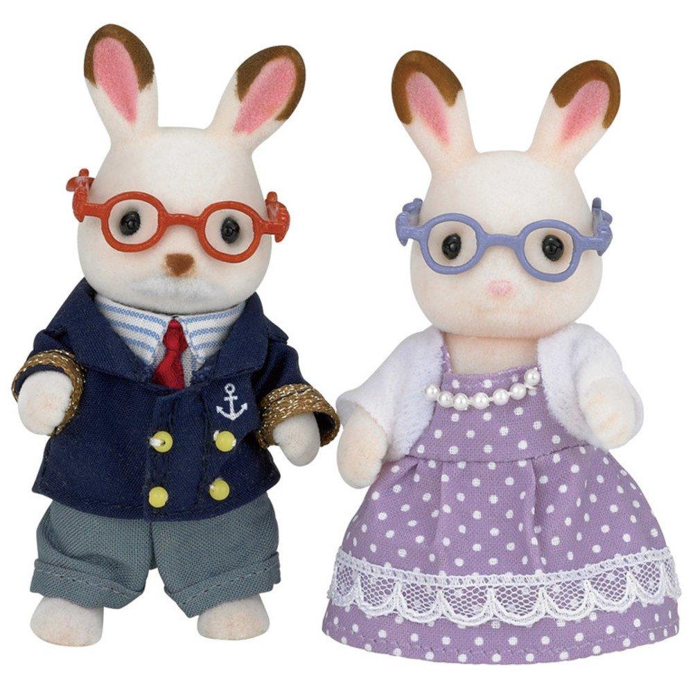 Calico Critters Rabbit Grandpa...