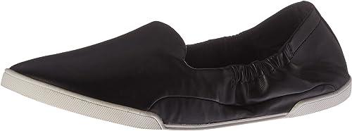 Carlos Womens Malinda White Flats Size 8