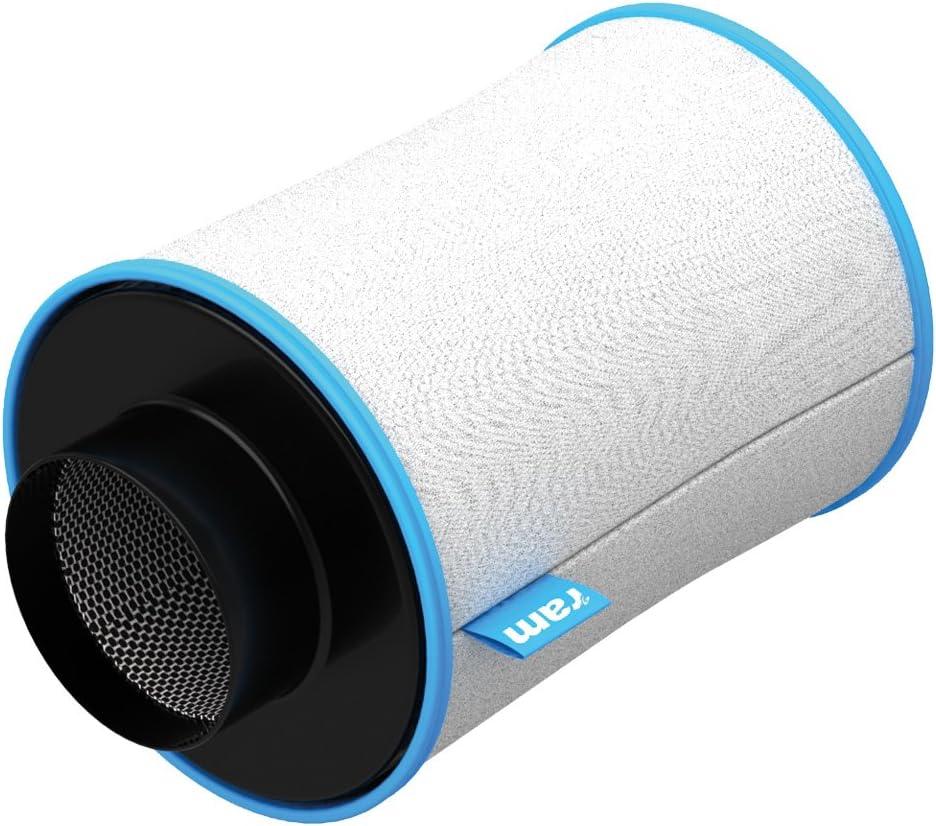 RAM 100/200-Filtro (10,16 cm, 170 m³/h) Filtro de Carbono