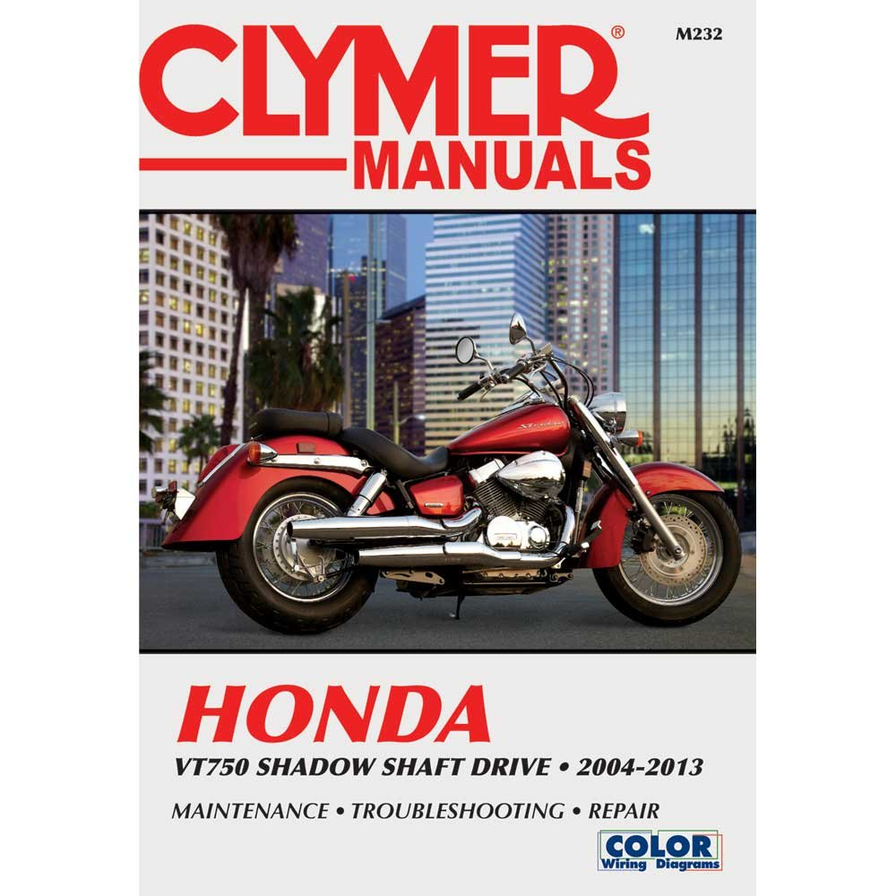Amazon.com: Clymer Honda VT750 Shadow Shaft Drive - 2004-2013: Automotive