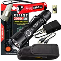 Klarus Improved XT11S LED Compact Tactical Rechargeable Flashlight