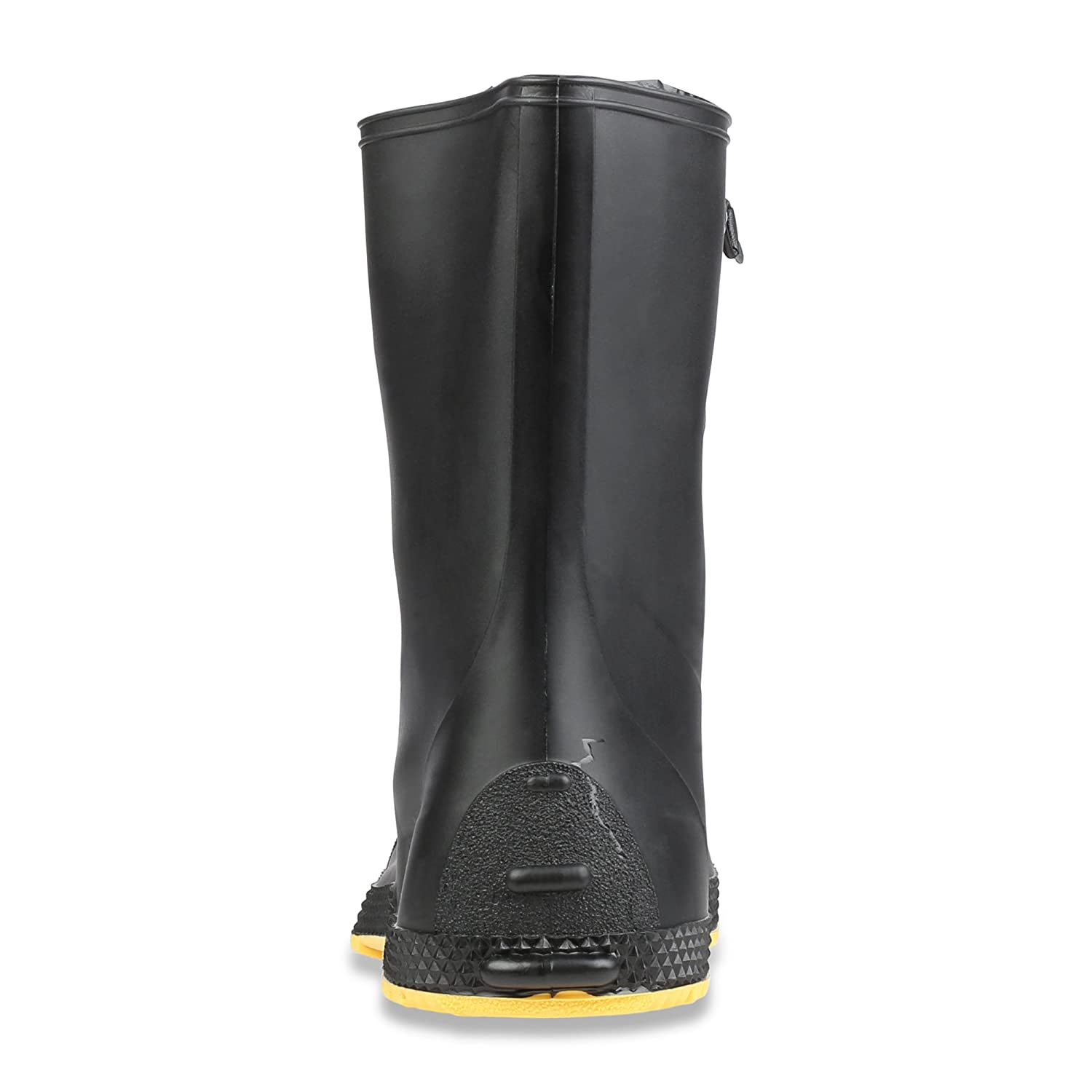 11001-Bagged Servus SuperFit 12 PVC Dual-Compound Mens Overboots Black /& Yellow Sperian Protection Group 11001-BLM-XSM