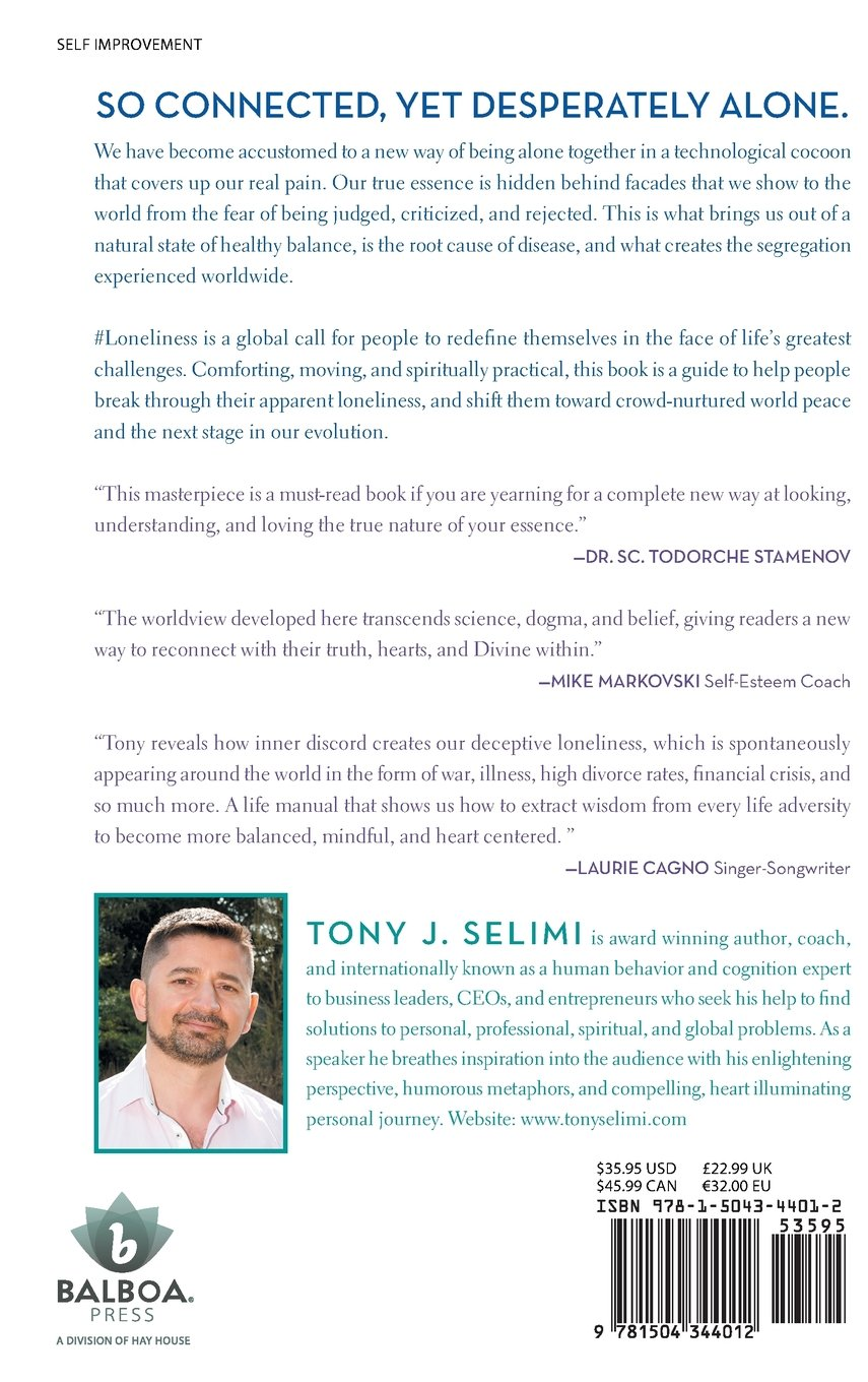 A Path To Wisdom Written By Tony J Selimi Designing Your Life Book Amazon | #loneliness: The Virus Of The Modern Age | Tony Jeton Selimi |  Personal Transformation