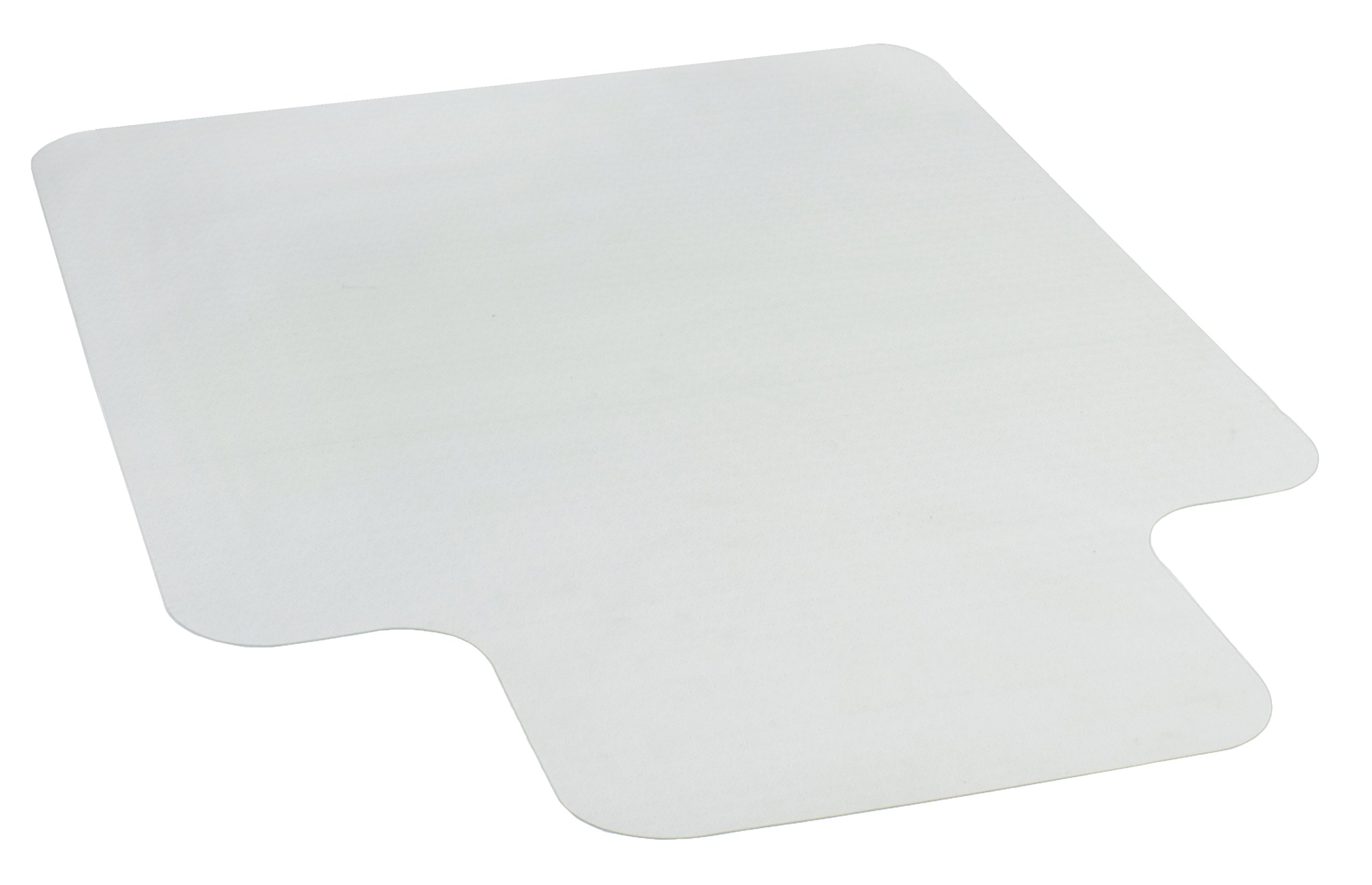 "VIVO Clear Computer Chair Protective Hardwood Floor Hard Surface Cover 47"" x 35"" Grip Mat (MAT-H-047)"