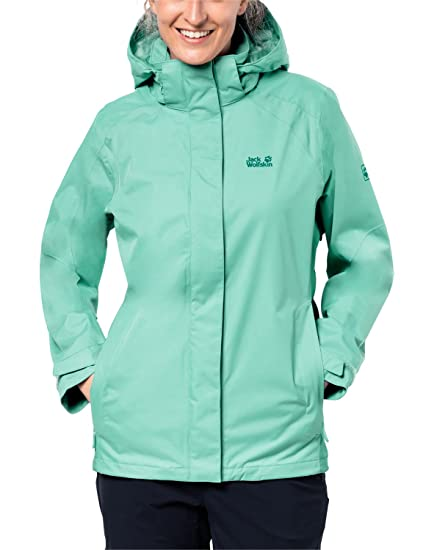 Jack Wolfskin Womens The Esmeraldas Waterproof Shell/Rain Jacket