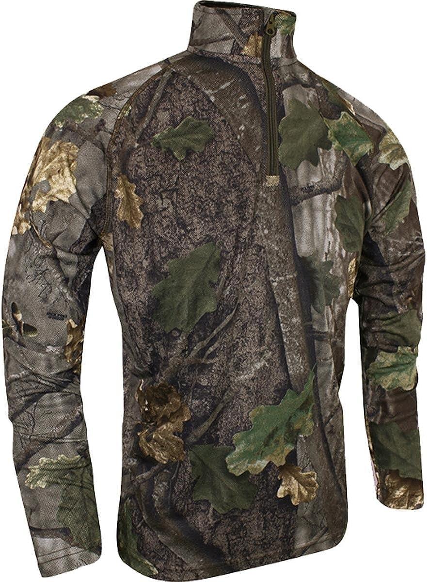 Jack pyke manches longues tee shirt en chêne anglais camouflage