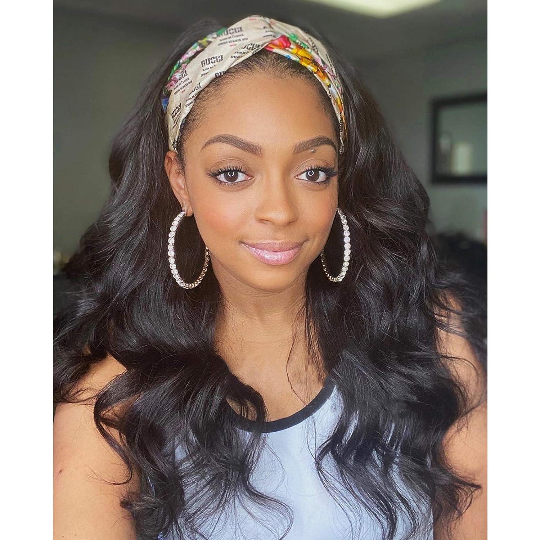 Human Hair Wigs for Sale Black Women Body Density Max 54% OFF Headband 150%