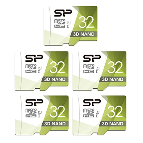 Silicon Power - Tarjeta microSD con Adaptador (32 GB, 5 ...